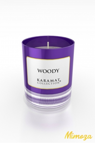 Woody Scented Candle - Karamat Collection