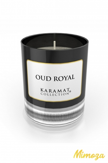 Oud Royal Scented Candle - Karamat Collection