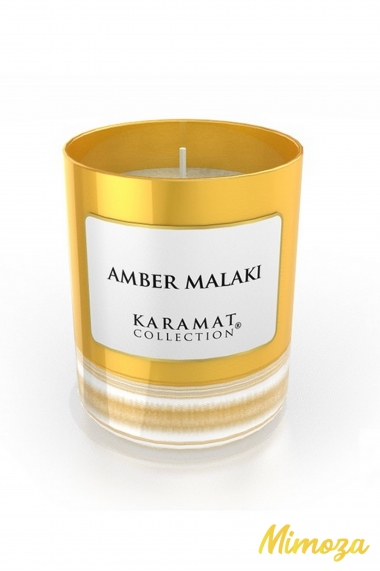 Bougie Parfumée de luxe Ambre Malaki - Karamat Collection