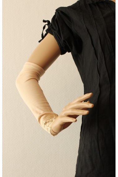 Arm Sleeves Cover with Lace