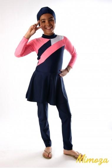 Combinaison burkini IANA avec jupe intégrée + bonnet
