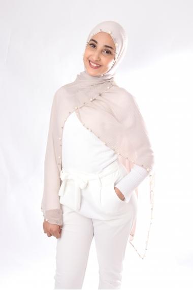 Hijab Vague perlé