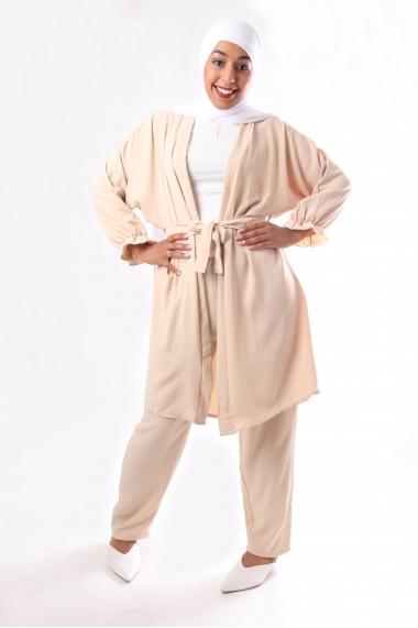 Elyka Kimono and Pants Set