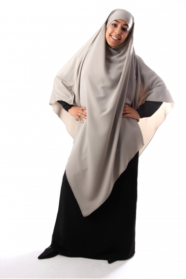 Khimar Kahina high jilbab pointe