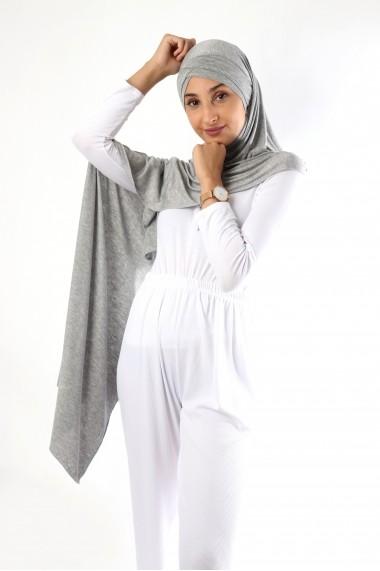 Hijab Jannah prêt-à-porter bandeau intégré croisé avec strass