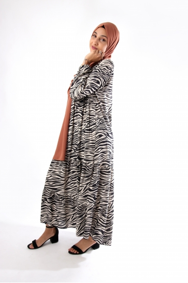 Retinia zebra dress