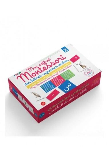Mon Coffret Montessori des Lettres Rugueuses Arabes 2 - Graine de Foi - Dès 3 ans
