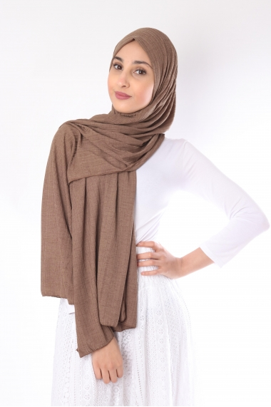 Turkiya Ribbed Hijab