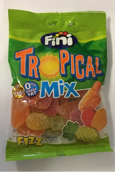 Tropical halal finish candy