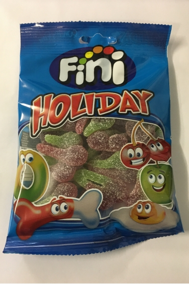 Halal holiday cherry finish candy