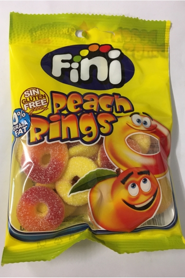 Halal finish candy peach ring