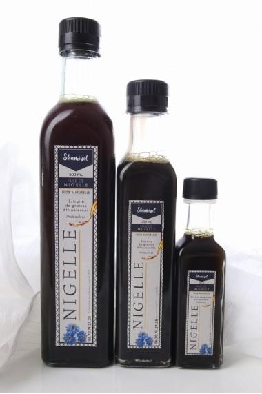 Huile de nigelle non filtrée graine d'Ethiopie Habachia 250 ml