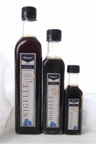 Huile de nigelle non filtrée graine d'Ethiopie Habachia 500 ml