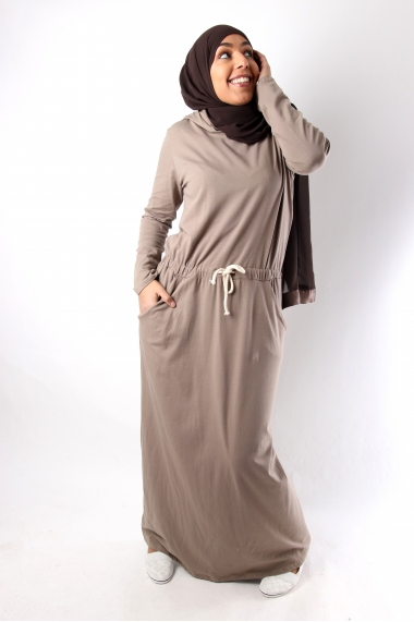 Long sportswear dress