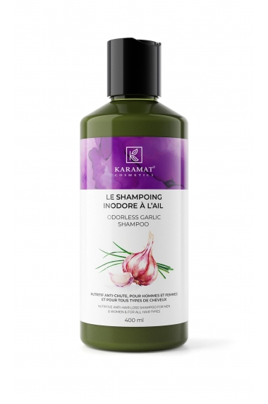 Shampoing inodore à l'ail Karamat