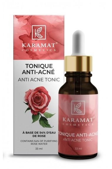 Tonique Anti Acné eau de rose Karamat