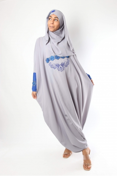 Abaya jumpsuit with hijab Alfyna