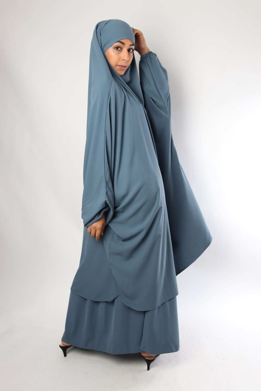 Demi-jilbab / Jupe droite El Bassira Caviary