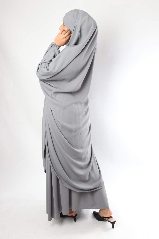 Jilbab butterfly / Skirt Flared El Bassira Caviary