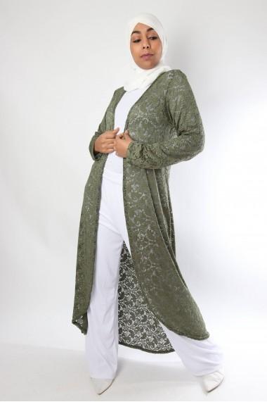 Dentella long waistcoat