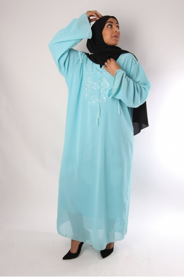 Abaya Long Oriental Dress
