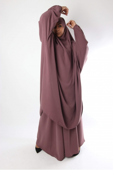 Half jilbab / Skirt Flared El Bassira Caviary
