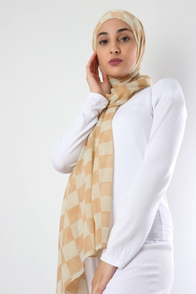 Hijab checkerboard