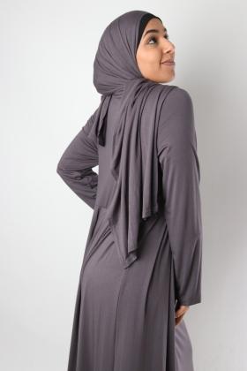 Hawa Dress integrated shawl