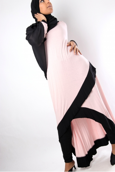 Robe asymétrique Kilia