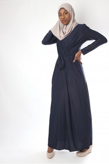 Robe longue Cache-coeur