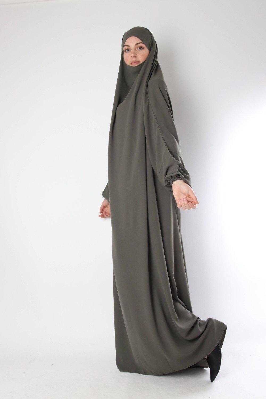 One piece jilbab El Bassira Caviary