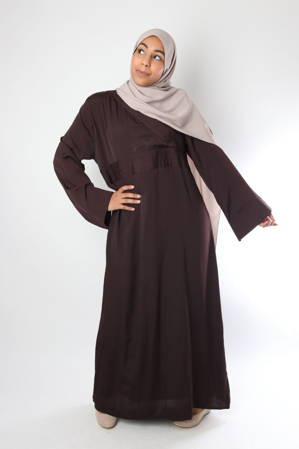 El Bassira Saluna Wrap Dress
