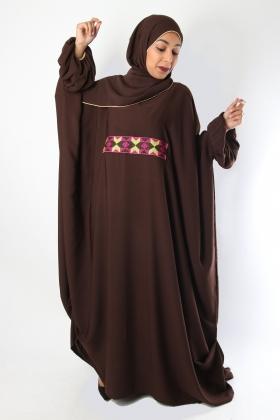 Bahra Chocolate Abaya
