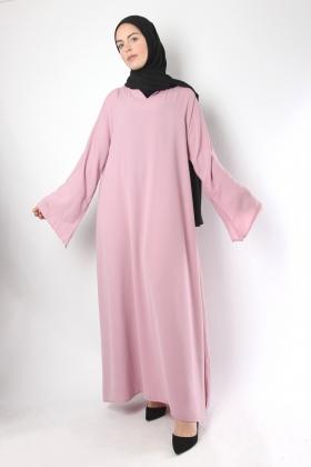 Flared abaya El Bassira Cubra