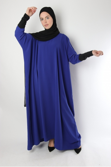 Abaya Papillon avec manches lycra