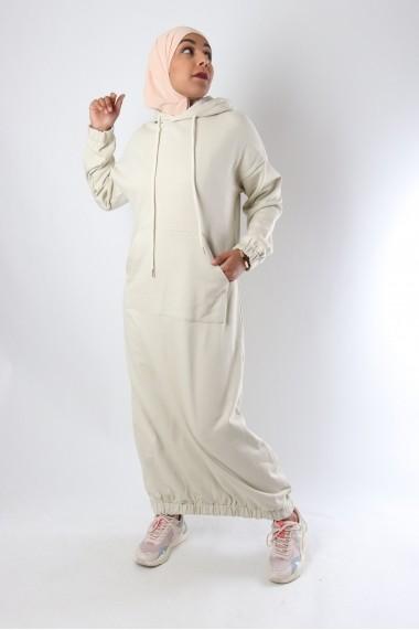 Robe sportwear Roumi capuche