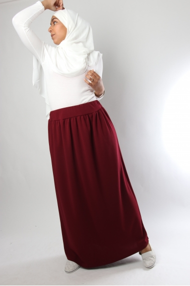 Long loose skirt