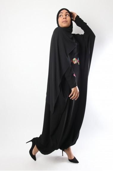 Dress abaya / Harem with Flower