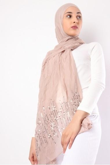 Maxi Hijab Strass séquin