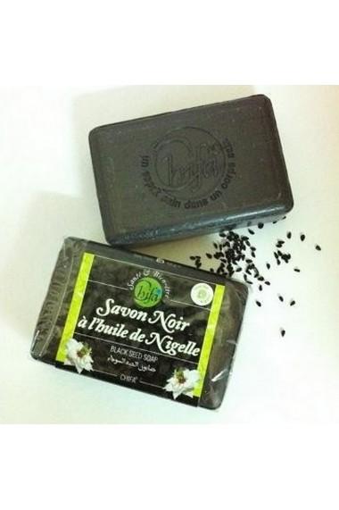 Savon noir à l'huile de nigelle Chifa 100gr