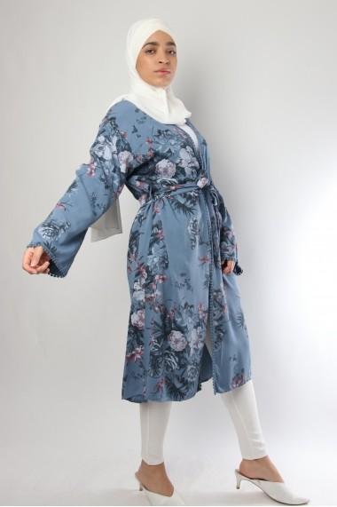 Kimono Kamma imprimé fleuri
