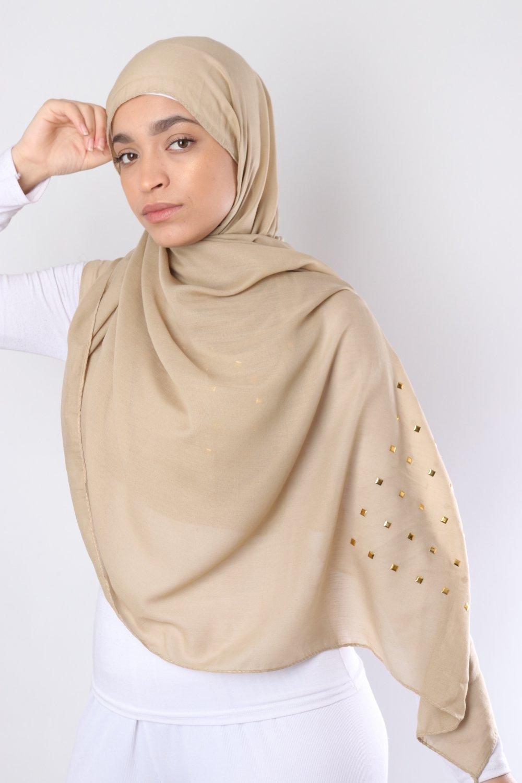 Maxi Hijab clou doré