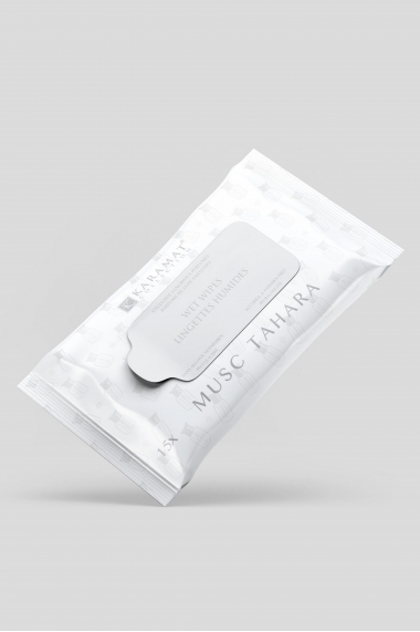 Karamat tahara musk scented cleansing wipes