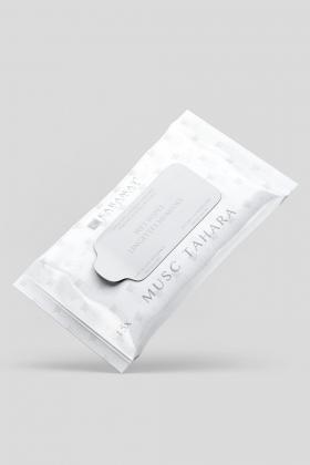 Lingettes nettoyantes parfumées musc tahara Karamat