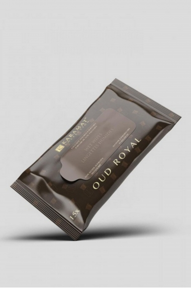 Oud royal Karamat scented cleansing wipes