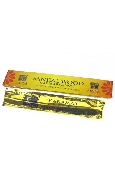 Karamat Sandal Wood Patchouli et musc