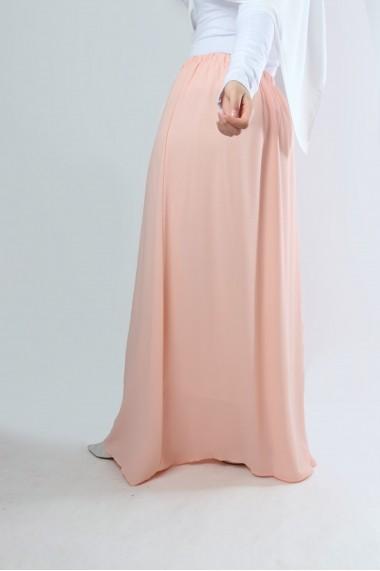 Dalya Long Skirt  Light Crepe