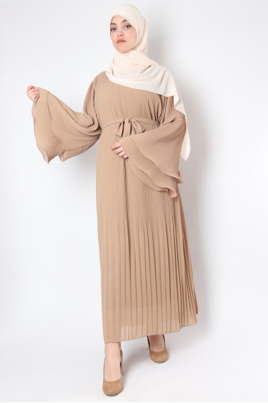 Pleated Naya dress