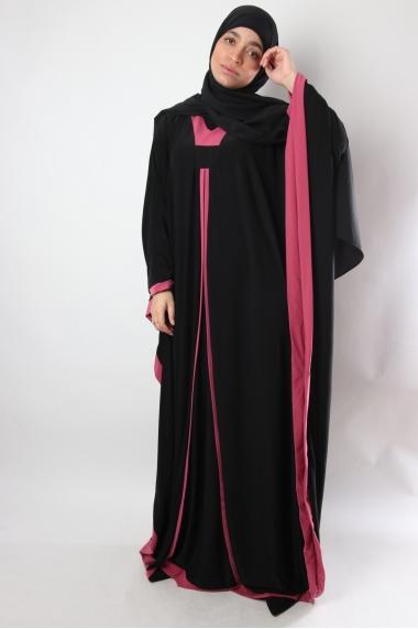 Abaya papillon Asmae