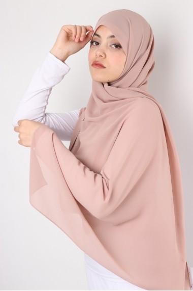 Hijab mousseline rectangle Nissa 175